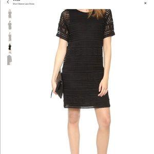 Vince Lace Crochet Sundress LBD 00 dress